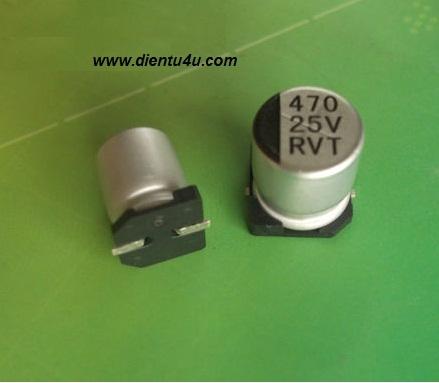 Tụ nhôm 220uF 16V SMD