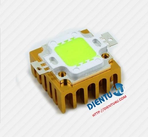 LED 10W 10V sáng xanh lá